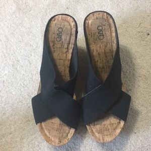 Cato Size 9M wedge shoe